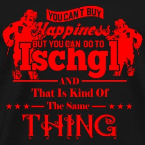 GIFT - ISCHGL HAPINESS RED - Men's Premium T-Shirt