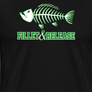 Fillet and release - Men's Premium T-Shirt
