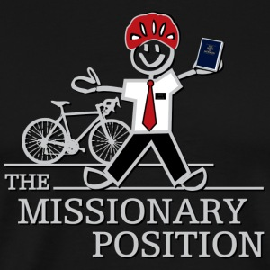 The Missionary Position (Dark) - Men's Premium T-Shirt