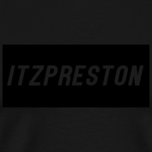 iTzPreston Full Black - Men's Premium T-Shirt