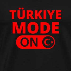 MODE ON TUeRKIYE TUeRKEI ATATUeRK - Men's Premium T-Shirt