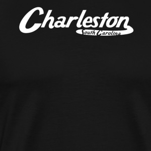 Charleston South Carolina Vintage Logo - Men's Premium T-Shirt
