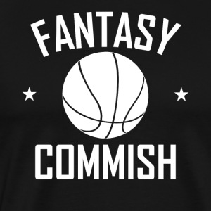 Fantasy Basketball Commish - Men's Premium T-Shirt