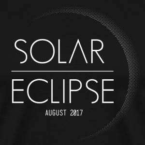 Solar Eclipse Oregon USA 2017 Corona Shirt - Men's Premium T-Shirt