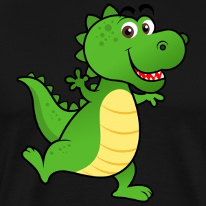 Cute DINO - Men's Premium T-Shirt