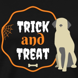 Trick and treat plus dog - Men's Premium T-Shirt