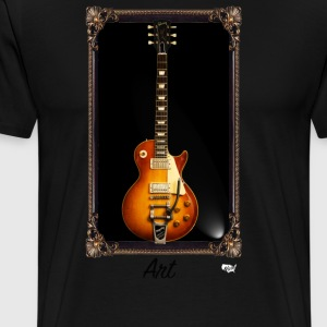 Guitars Are Art - LP - Men's Premium T-Shirt