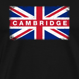 Cambridge Shirt Vintage United Kingdom Flag T-Shir - Men's Premium T-Shirt