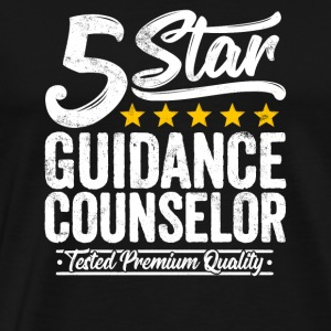Best Guidance Counselor Gift 5 Star Job Workmate - Men's Premium T-Shirt