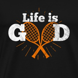 My life is tennis - Gift - Men's Premium T-Shirt