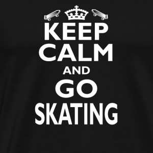 Skateboard Shirt/Hoodie-Skating Love Birthday Gift - Men's Premium T-Shirt