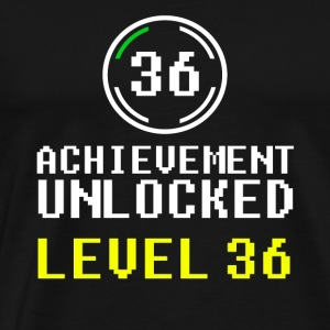 achievement unlocked level 36 - Men's Premium T-Shirt
