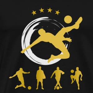 Soccer goal ball champion gold best Soccer Team sp - Men's Premium T-Shirt