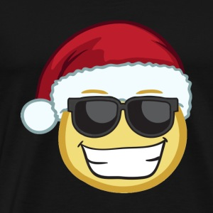 Funny christmas santa glass shirt - Men's Premium T-Shirt