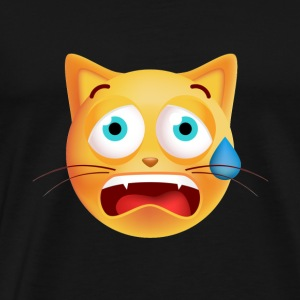 Cat crying shirt - Funny Cat tshirt - Men's Premium T-Shirt