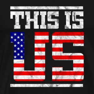 This is us - gift for veterans day - Men's Premium T-Shirt