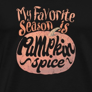 Pumpkin Spice Thanksgiving - Men's Premium T-Shirt