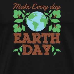 Make Every Day Earth Day Recycle Conservation - Men's Premium T-Shirt
