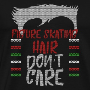 Ugly sweater christmas gift for Figure Skating - Men's Premium T-Shirt