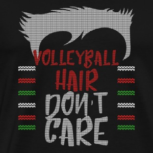 Ugly sweater christmas gift for Volleyball - Men's Premium T-Shirt
