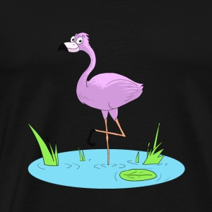 Pink Flamingo - Men's Premium T-Shirt