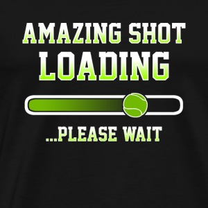 Tennis Loading Player Shirt Gift - Men's Premium T-Shirt