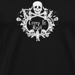 Creep It Real Zombie Apocalypse - Men's Premium T-Shirt