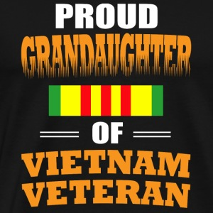 Proud Grandaughter of Vietnam Veteran shirt - Men's Premium T-Shirt