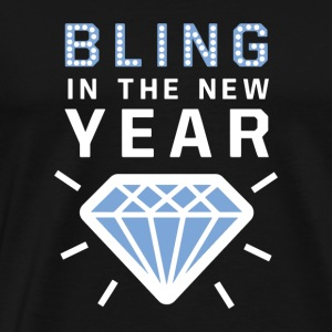 Bling in the new year diamond sylvester tee gift - Men's Premium T-Shirt