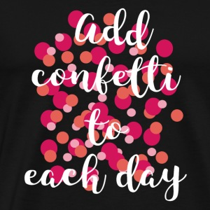 confetti - Men's Premium T-Shirt