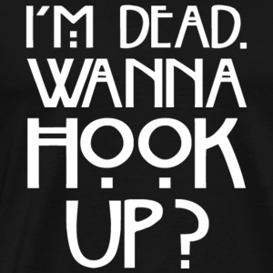 American Horror Story Wanna Hook Up - Men's Premium T-Shirt