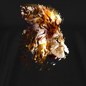 LION ART - Men's Premium T-Shirt