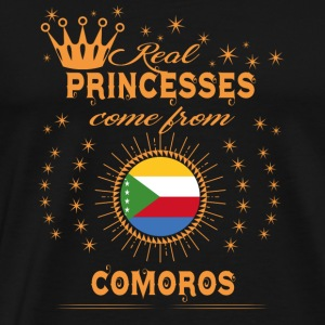 love princesses come from COMOROS - Men's Premium T-Shirt