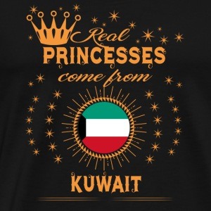love princesses come from KUWAIT - Men's Premium T-Shirt