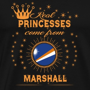 love princesses come from MARSHALL ISLANDS - Men's Premium T-Shirt