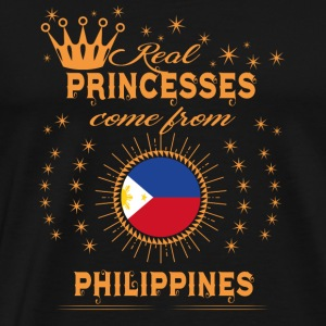 love princesses come from PHILIPPINES - Men's Premium T-Shirt