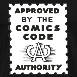Approved by the Comics Code Authority - Men's Premium T-Shirt