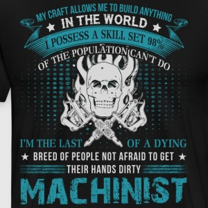 Machinist T Shirt - Men's Premium T-Shirt