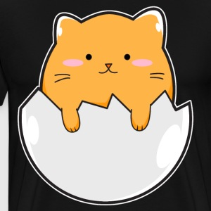 Yellow Cat Egg - Men's Premium T-Shirt
