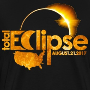 Total Solar Eclipse Astronomy August 21 2017 - Men's Premium T-Shirt