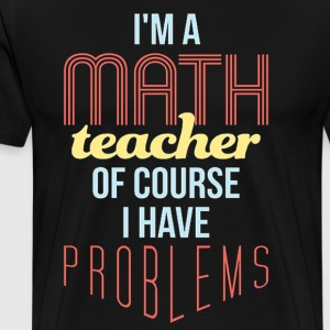 Math Teacher - Men's Premium T-Shirt
