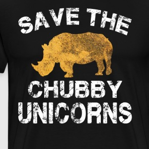 Save The Chubby Unicorns Shirt - Men's Premium T-Shirt