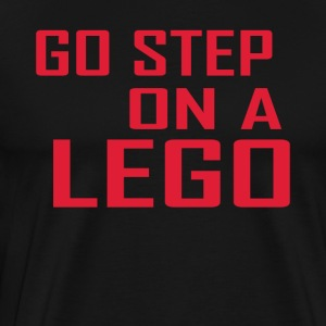 Go step on a lego - Men's Premium T-Shirt