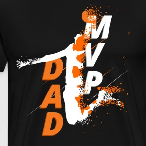 Basketball MVP Dad T-Shirt - Men's Premium T-Shirt