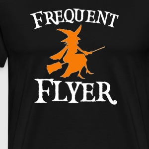 Frequent Flyer T-Shirt Perfect Halloween - Men's Premium T-Shirt