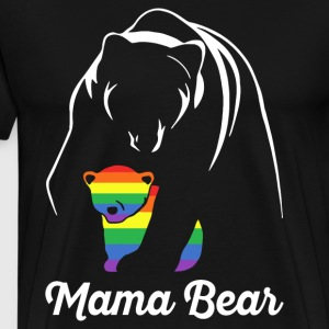 Proud Mama Bear Lgbt - Men's Premium T-Shirt