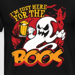 Halloween Im Just Here For The Boos Shirt Pre - Men's Premium T-Shirt
