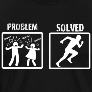 Problem Solved Athlete - Men's Premium T-Shirt