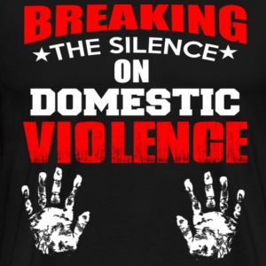 DOMESTIC VIOLENGE - Men's Premium T-Shirt
