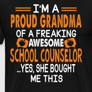 Awesome School Counselor Shirt - Men's Premium T-Shirt